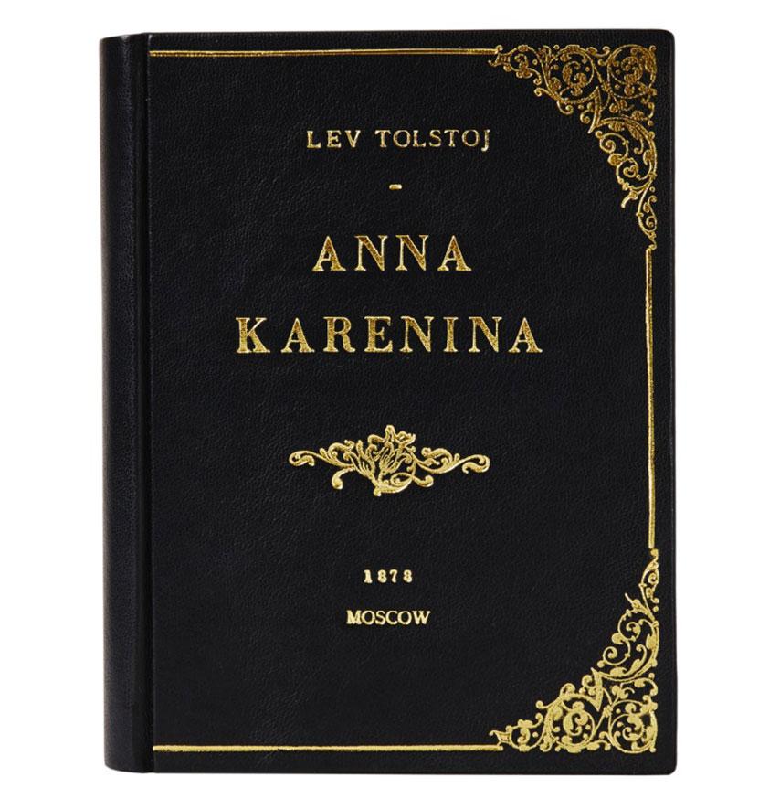 Anna Karenina Black Book Clutch By M